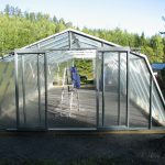 64 m² växthus