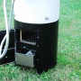 Varmvattenberedare med dusch