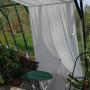 Växthus 40 m² med två ingångar