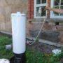 Här används duschen med 12v-pump